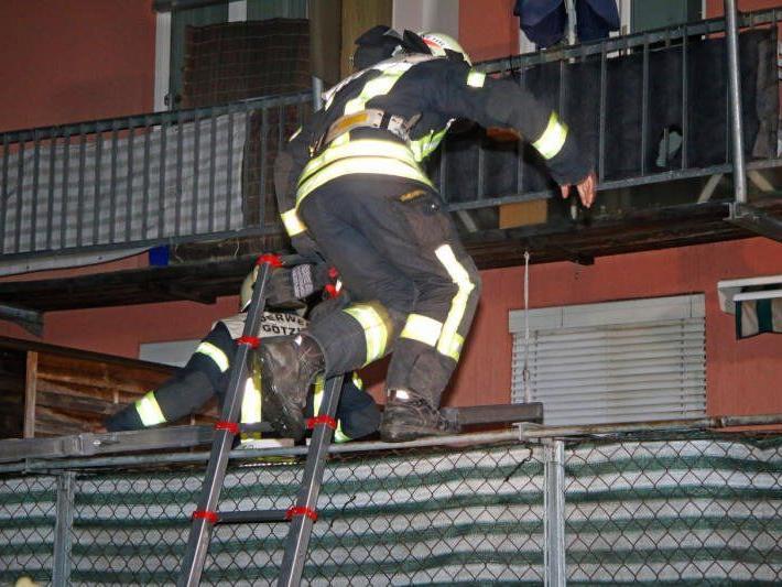 Feuerwehren waren mit 60 Mann im Einsatz