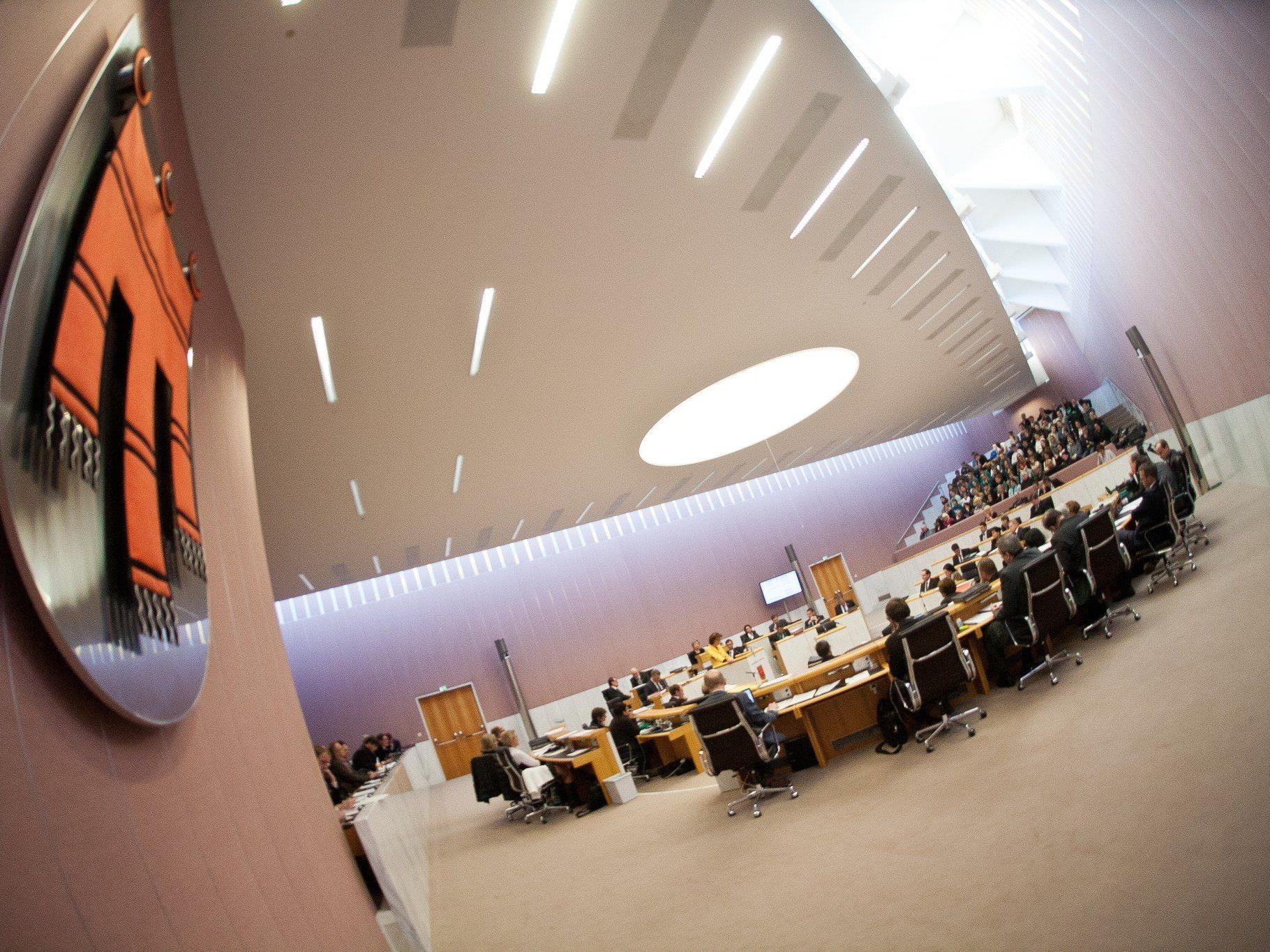 Der Landtag tritt am Mittwoch zu seiner vierten Sitzung in diesem Jahr zusammen
