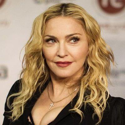 "Madonna bei der Ankunft des ""Hard Candy Fitness""-Center in Toronto, im Februar 2014."