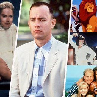 """Von """"Basic Instinct"""" über """"Forrest Gump"""" bis Pulp Fiction und Beverly Hills 90210."""
