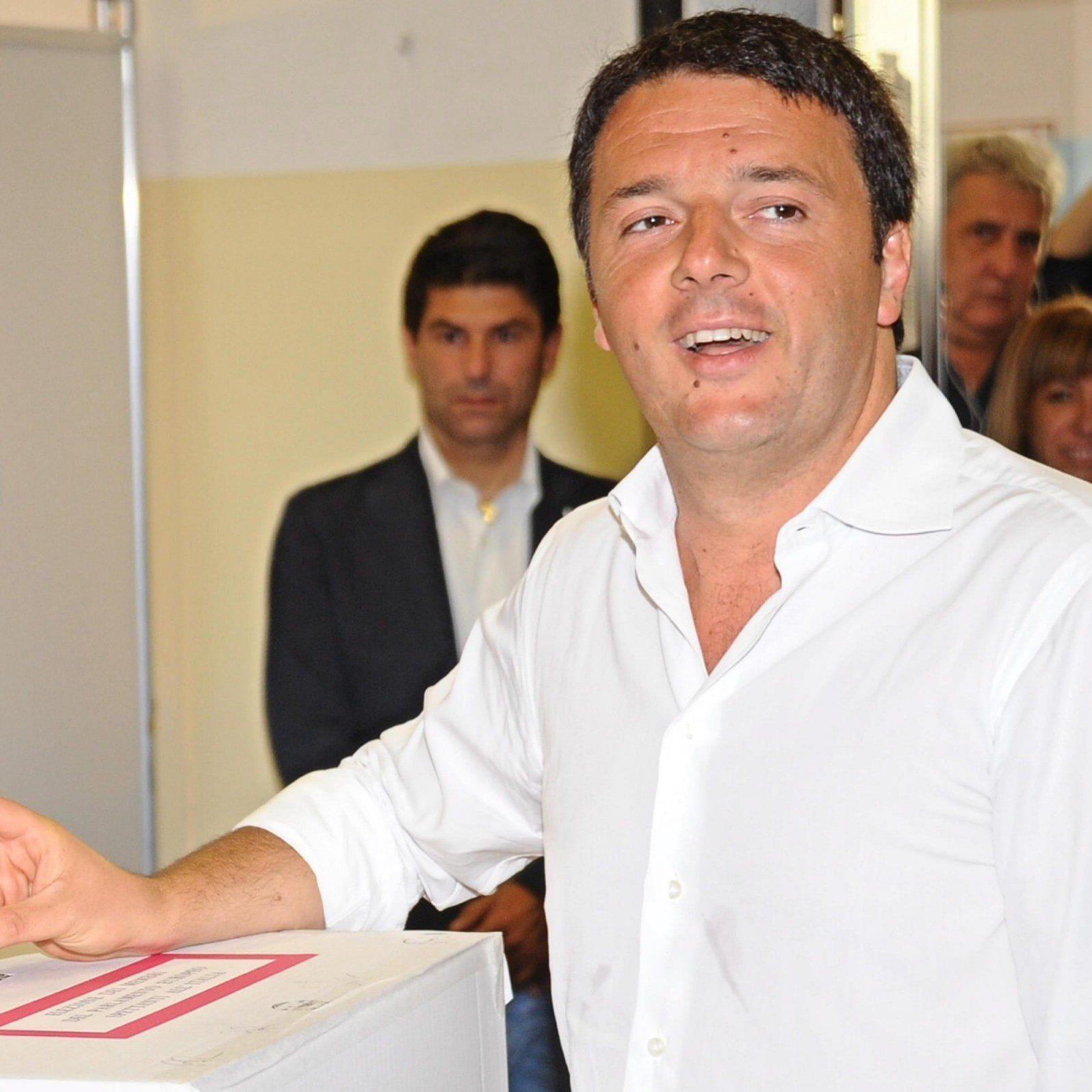 Die Europawahl galt in Italien als erster großer Test für Renzi rund 80 Tage nach seinem Amtsantritt.
