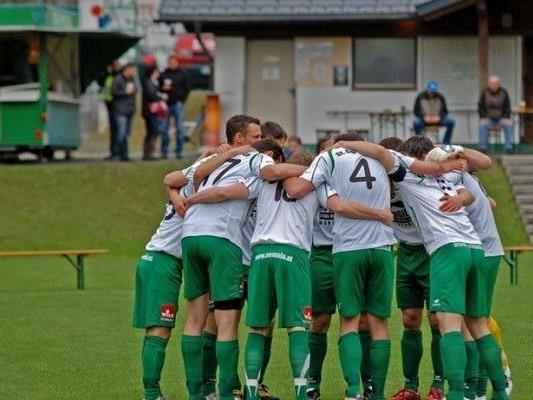 Der SC St. Gallenkirch konnte über einen Sieg in Lustenau jubeln