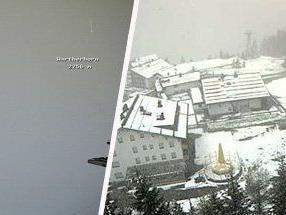 Ein Blick durch unsere Livecams zeigt: der Schnee ist zurück.