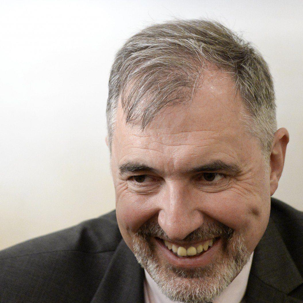 Ewald Stadler tritt bei der EU-Wahl mit seiner neuen Partei, den REKOS, an.