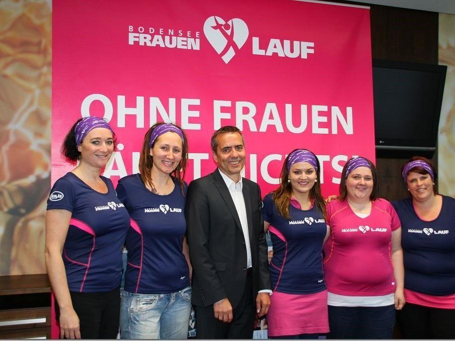 Die Jubiläumsauflage des Bodensee Frauenlauf sprengt den Rahmen, in Hohenems wurde das Programm präsentiert.