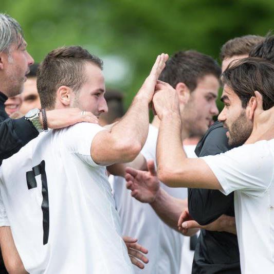 Jubel nach dem 3:1-Heimsieg von Bregenz gegen Innsbruck Amateure.