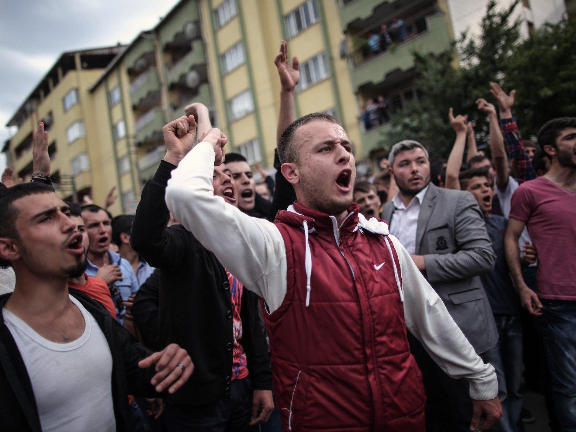 Proteste in der Türkei.