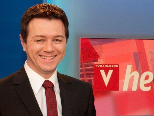 Nach 23 Jahren beim ORF verlässt Christoph Waibel Vorarlberg heute.