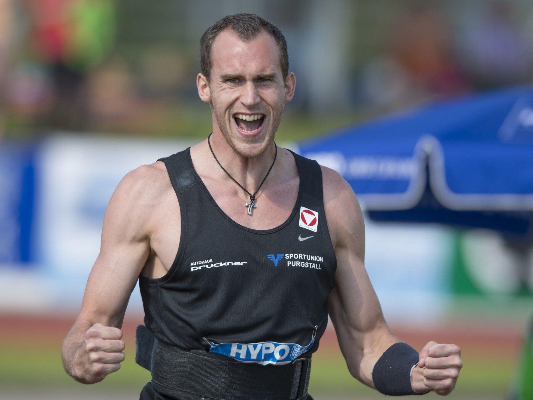 Niederösterreicher Dominik Distelberger mit konstanten Leistungen in Götzis.