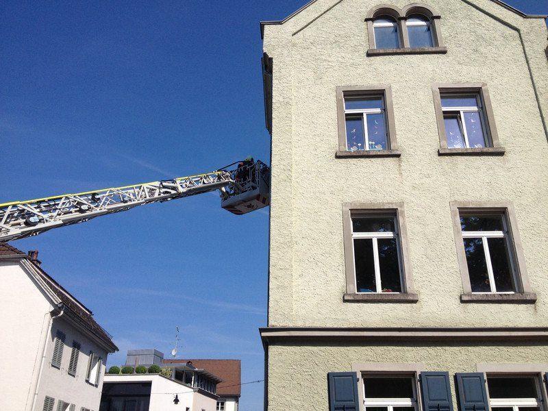 Feuerwehreinsatz im Kindergarten Belruptstraße