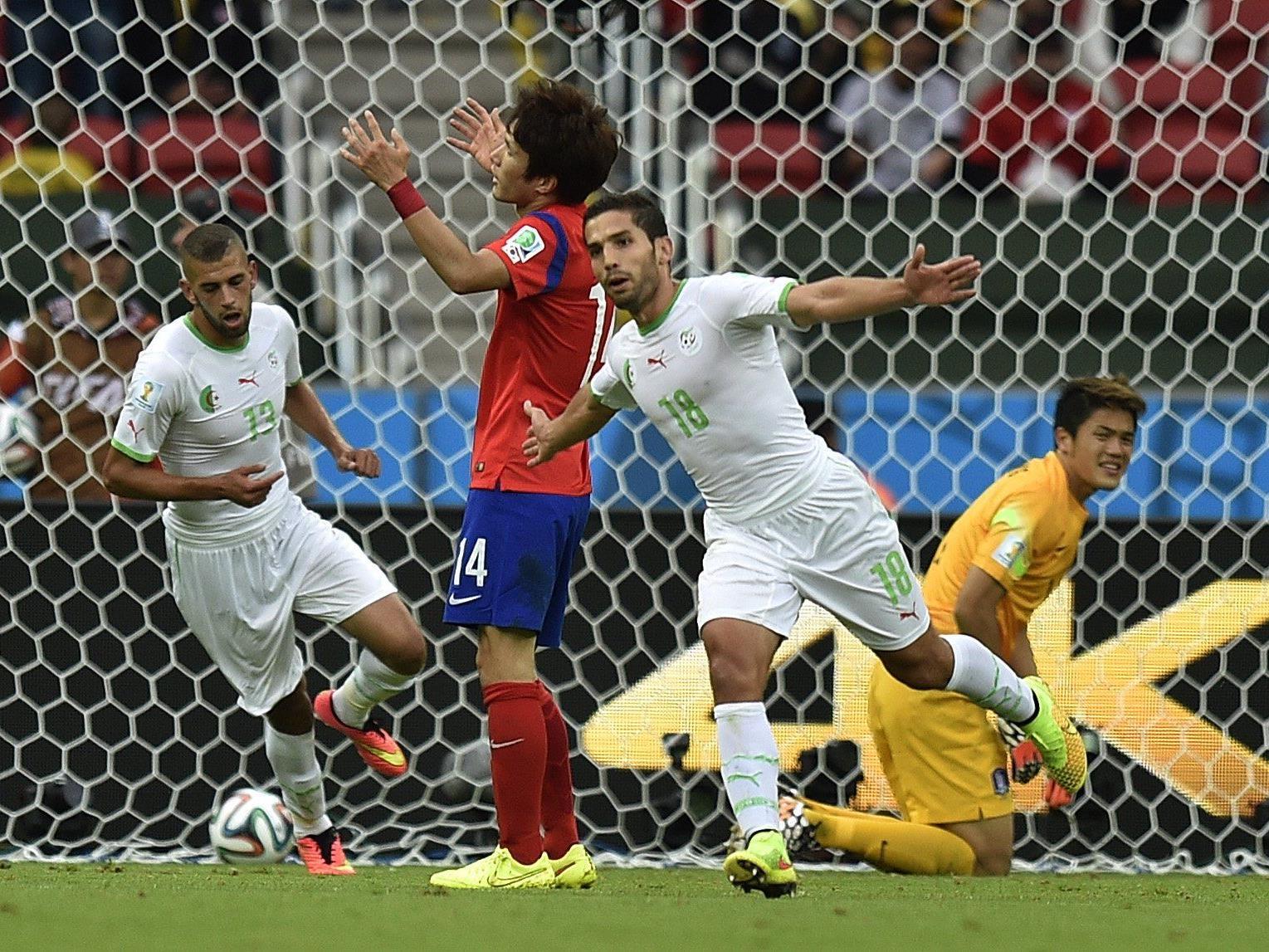 Die Algerier überzeugten vor allem in der ersten Halbzeit mit schnellem Angriffsfußball.