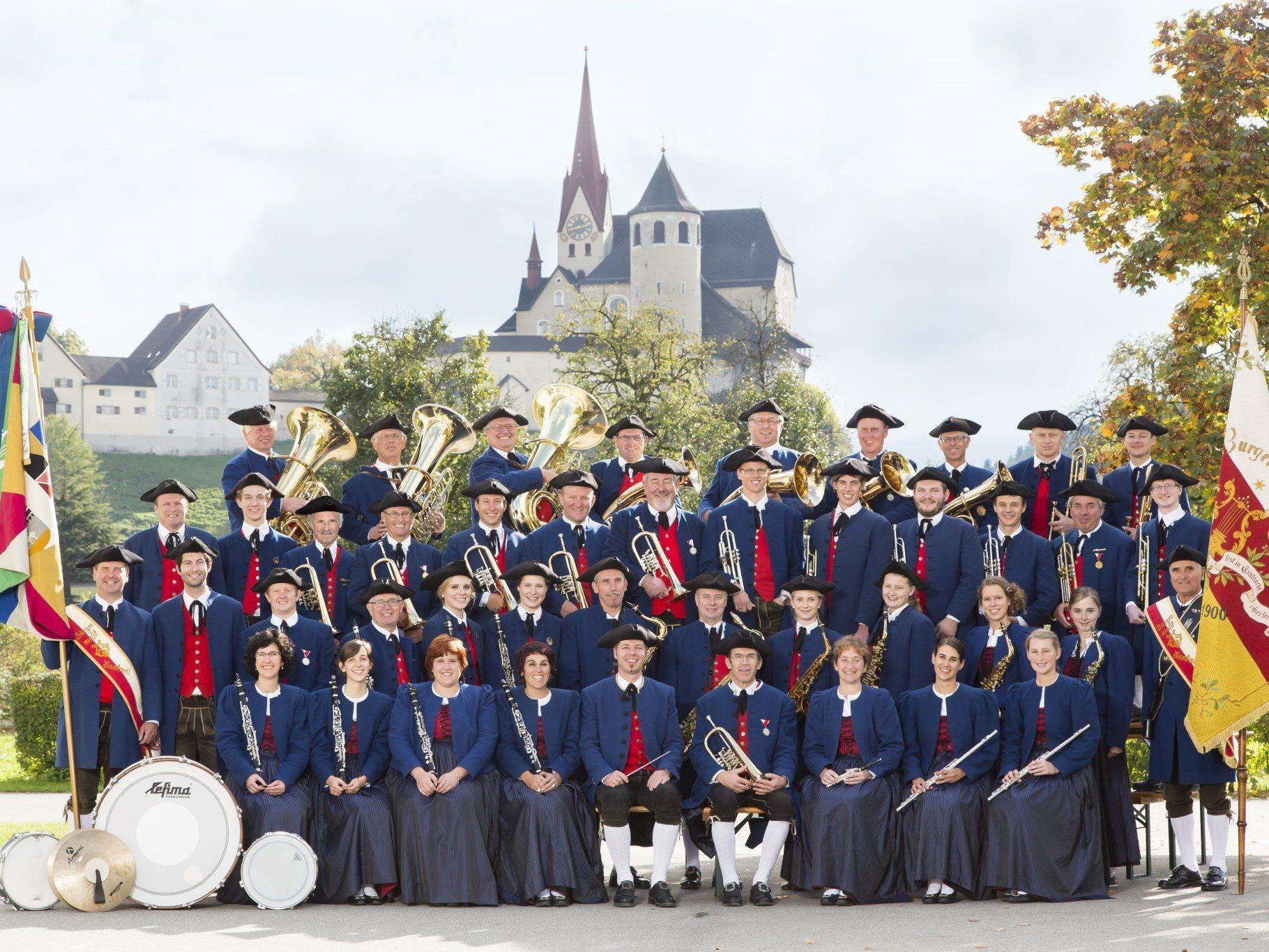 Die Bürgermusik Rankeil feiert heuer ihr 200 jähriges Bestehen.