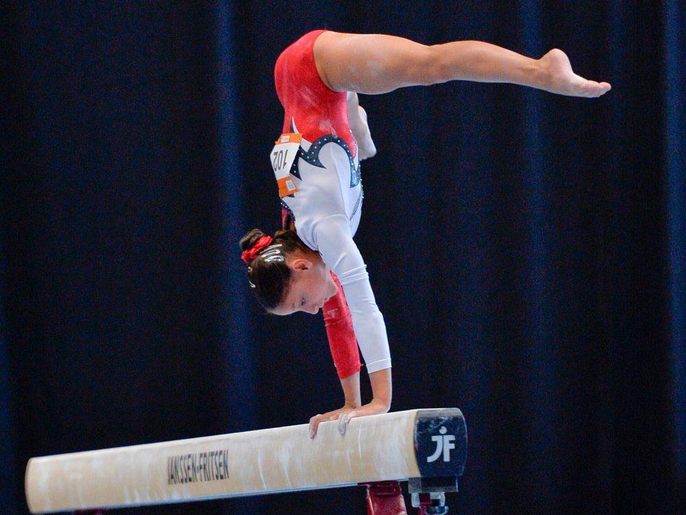 Ceyda Sirbu ist bei der Jugend-Olympiade dabei.