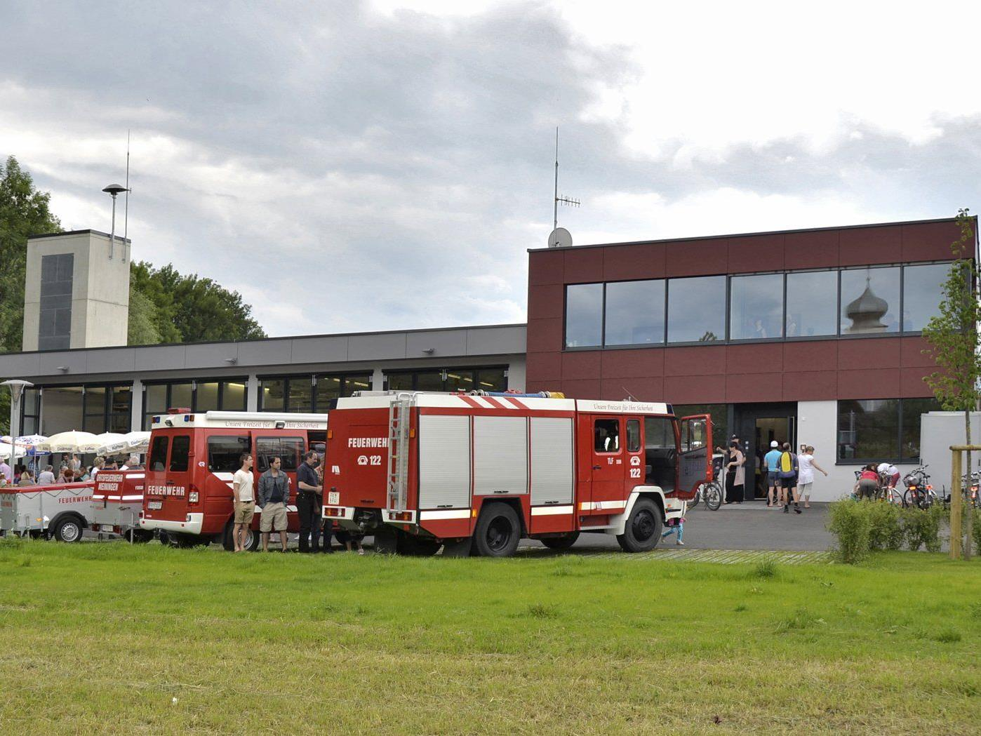 Großinvestition Feuerwehrgeätehaus