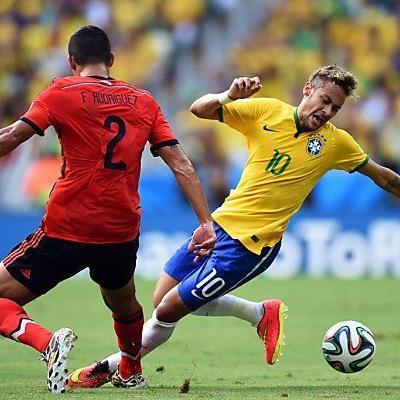 Kaum ein Durchkommen für Neymar und Co