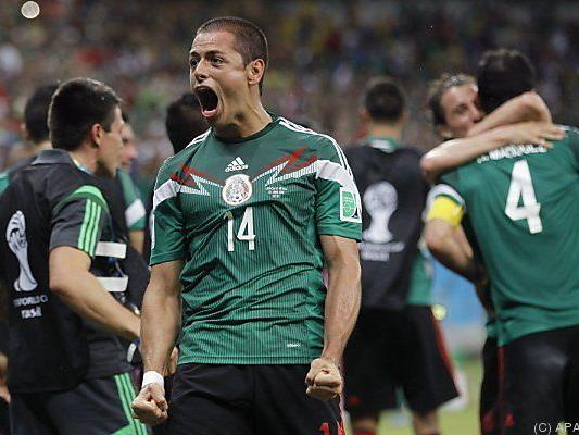 Mexiko entschied Partie in der Schlussphase