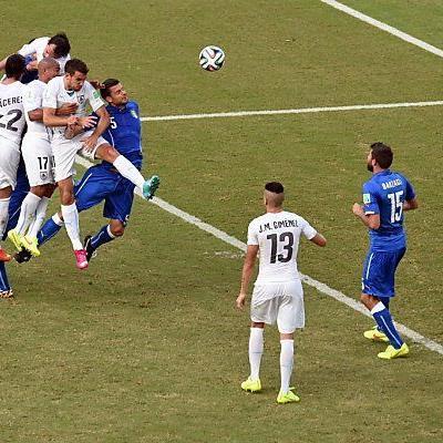 Godin traf für Uruguay in der 81. Minute