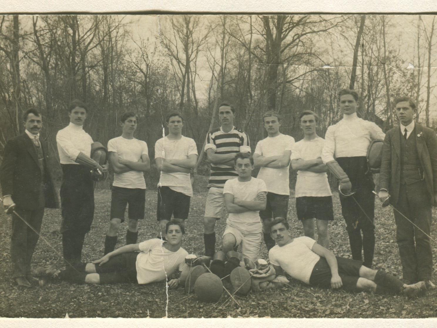 Die Mannschaft im Jahr 1914