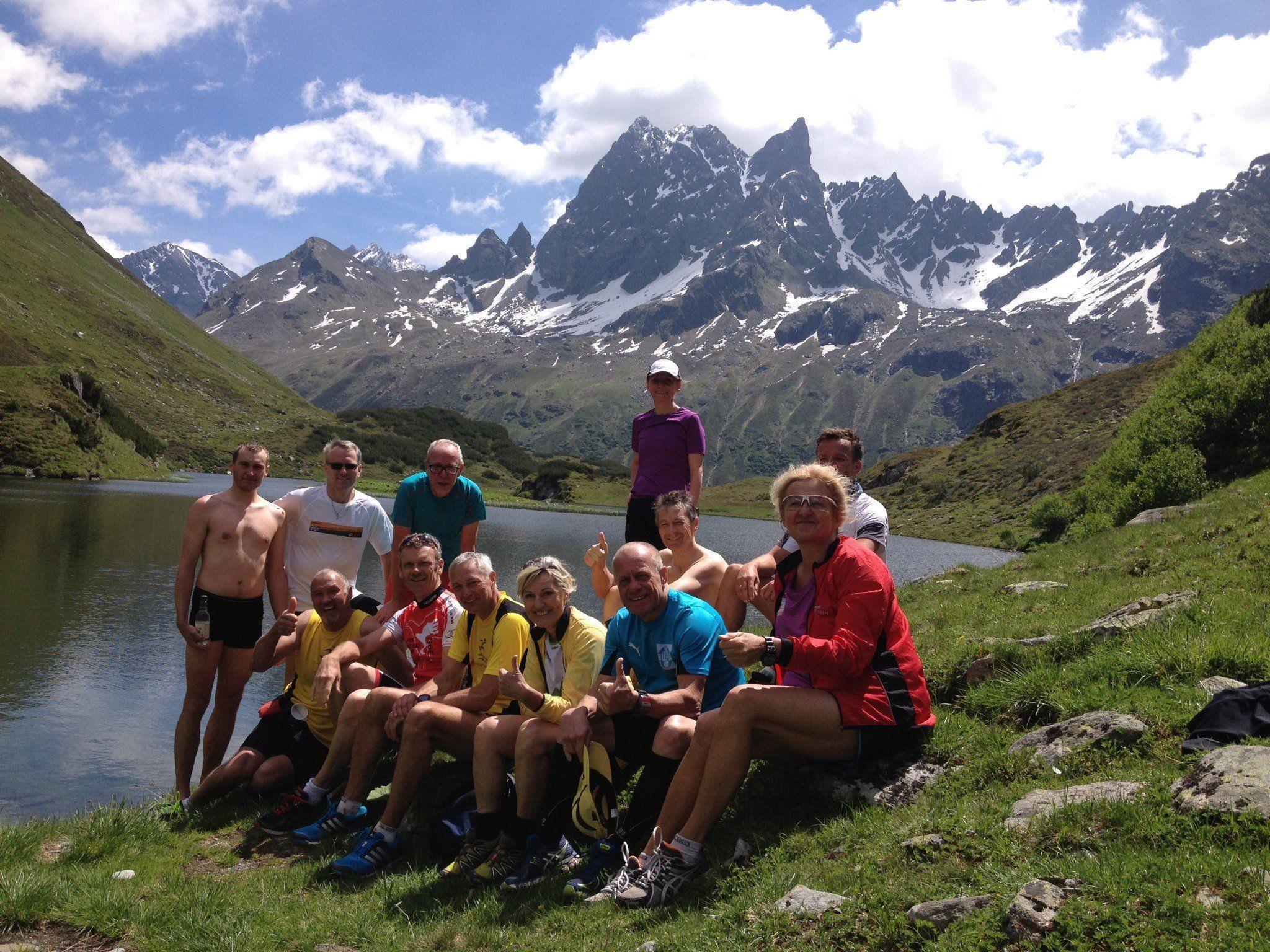 Streckenbesichtigung Montafon Arlberg Marathon.