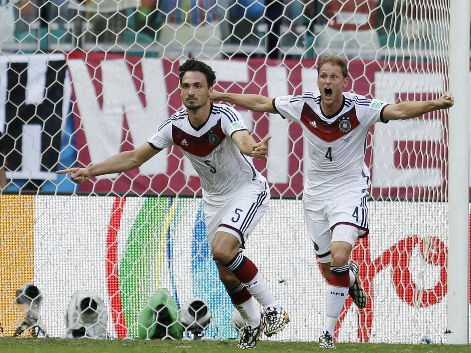 Mats Hummels erzielte per Kopf das 2:0 für Deutschland.