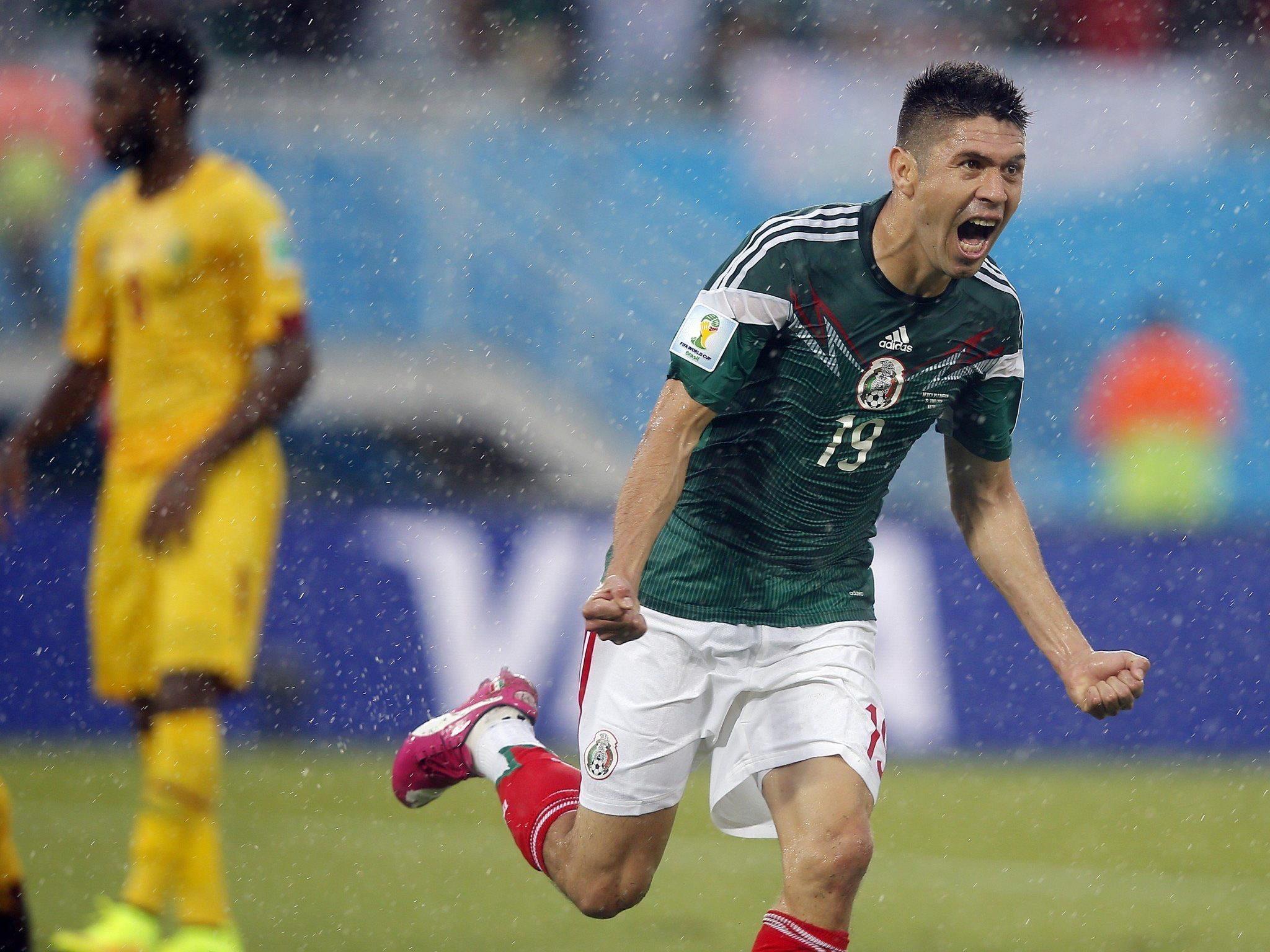 Oriba Peralta erzielte den Siegtreffer für Mexiko.