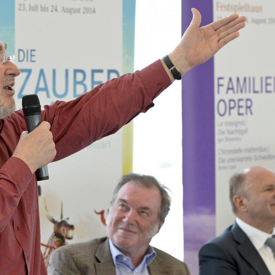 """Komponist Heinz Karl Gruber wird am 23. Juli die Uraufführung seiner Oper """"Geschichten aus dem Wiener Wald"""" selbst dirigieren."""
