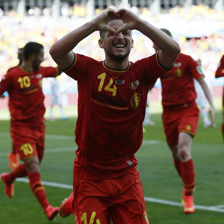 Belgien siegt nach Rückstand gegen Algerien mit 2:1