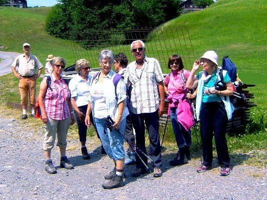 Pressebericht Wanderung des Pensionistenverbandes, Ortsgruppe Bregenz