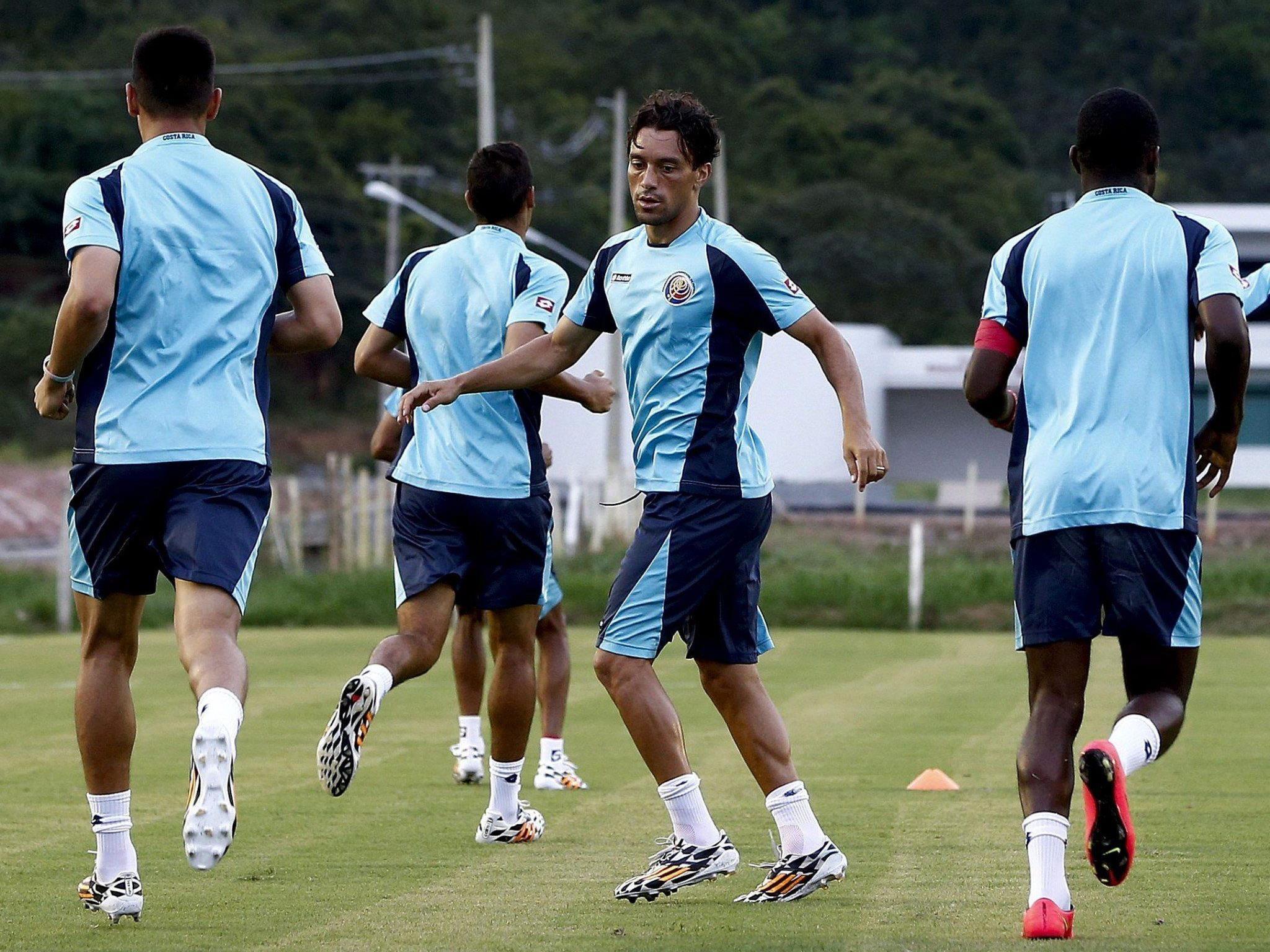 """Costa Rica sieht """"große Chance"""" gegn Griechenland."""