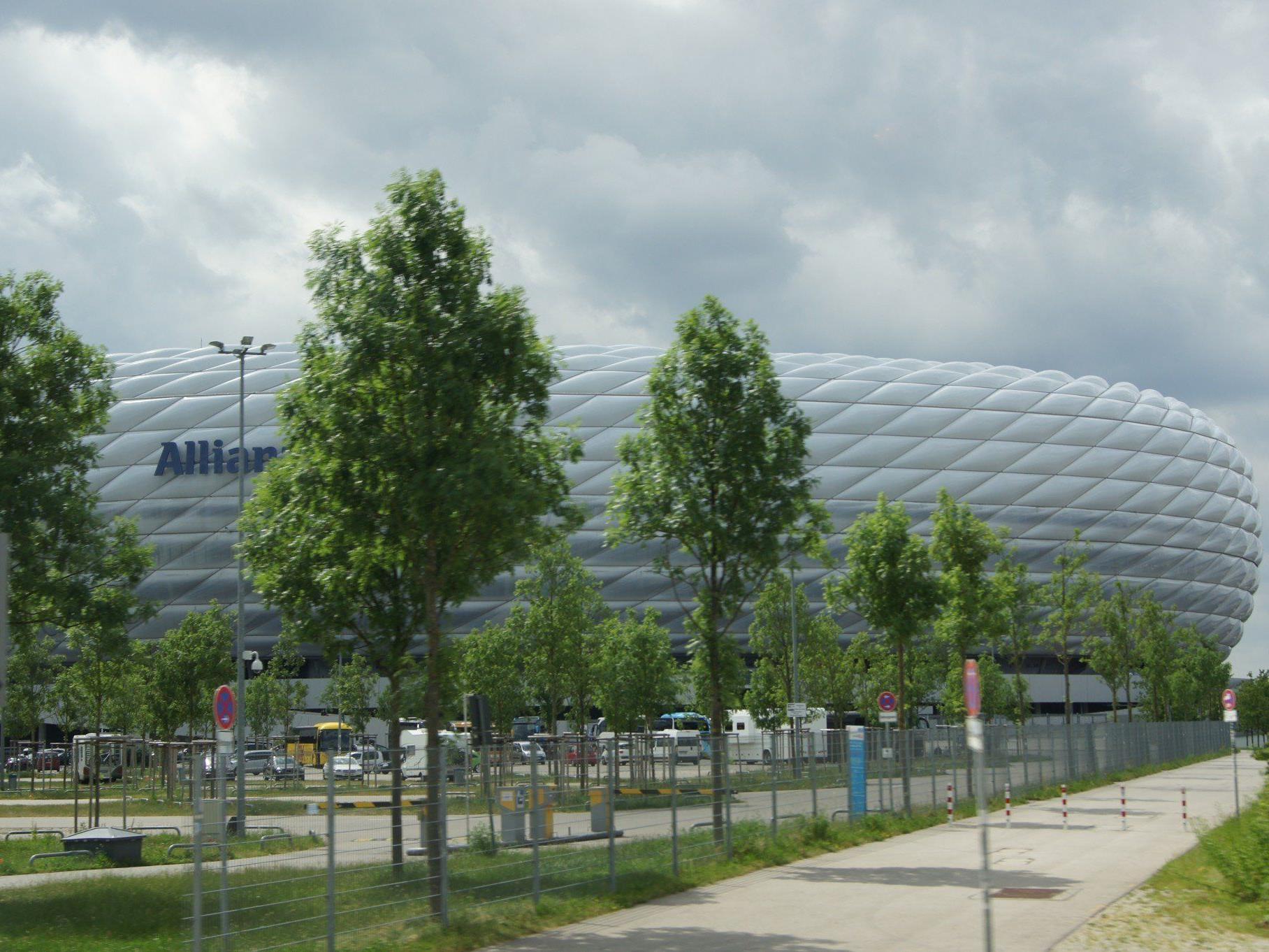 In der Allianzarena angekommen, gab es eine ca. einstündige interessante Stadionführung.