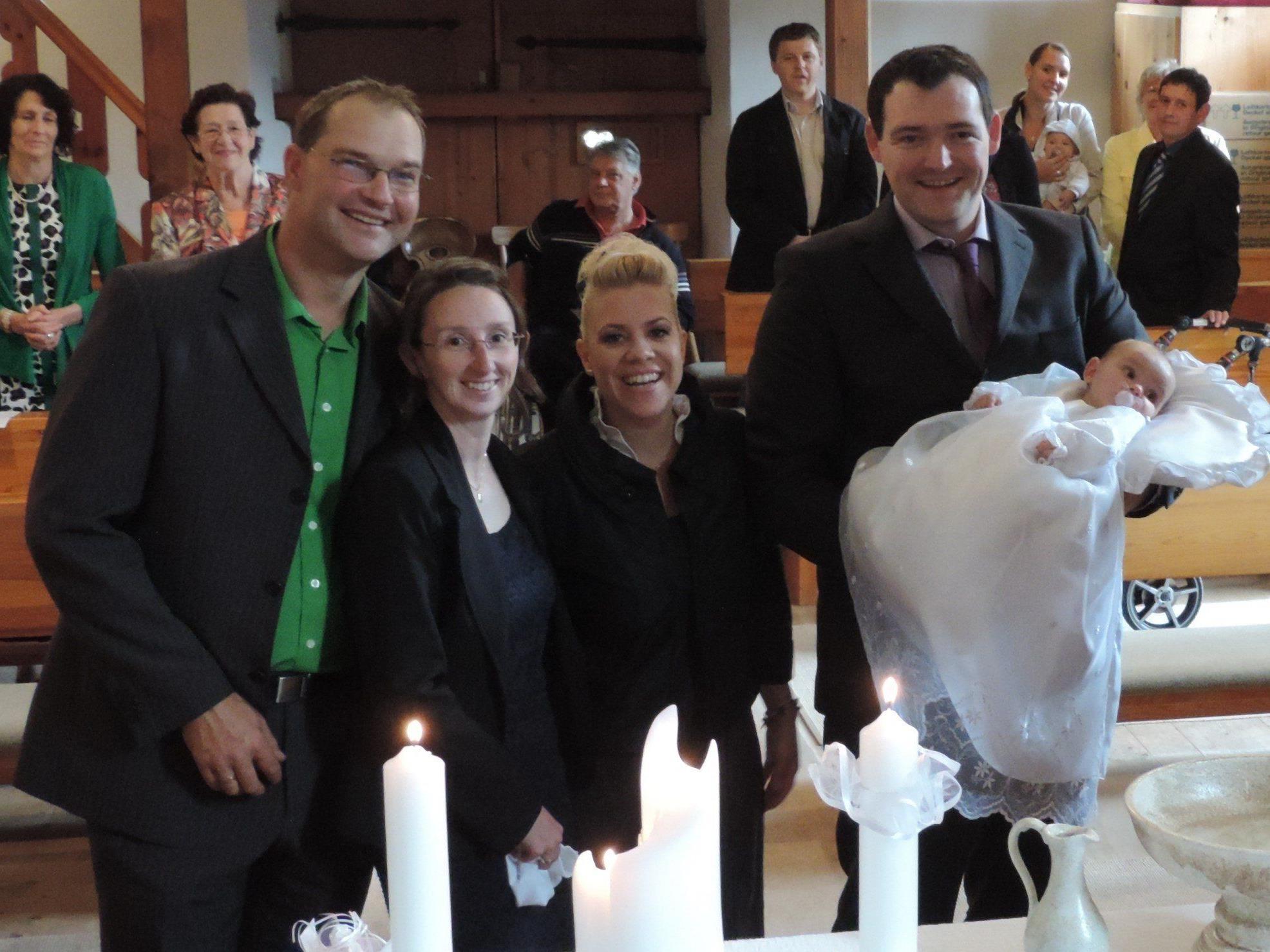 Taufe von Madlen Thöny