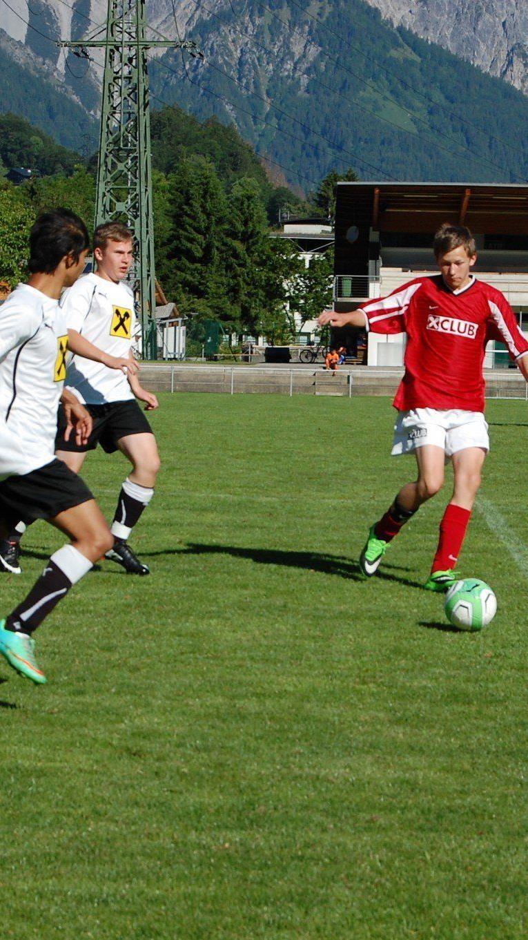 Die Begeisterung der Jugendlichen war groß beim Bundesfinale.