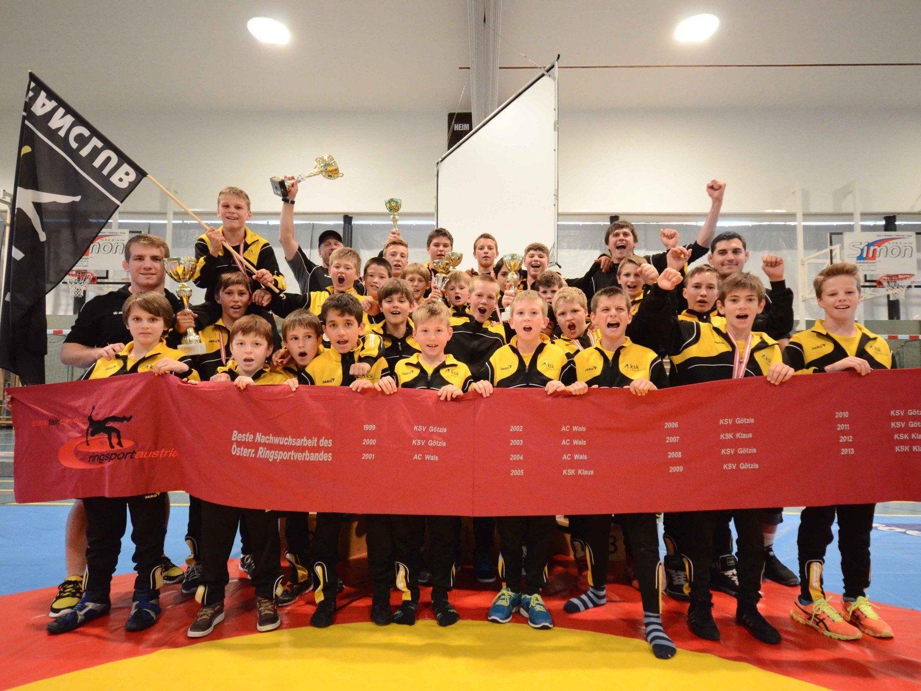 KSK Klaus holt elf Medaillen bei den Titelkämpfen in Mäder.