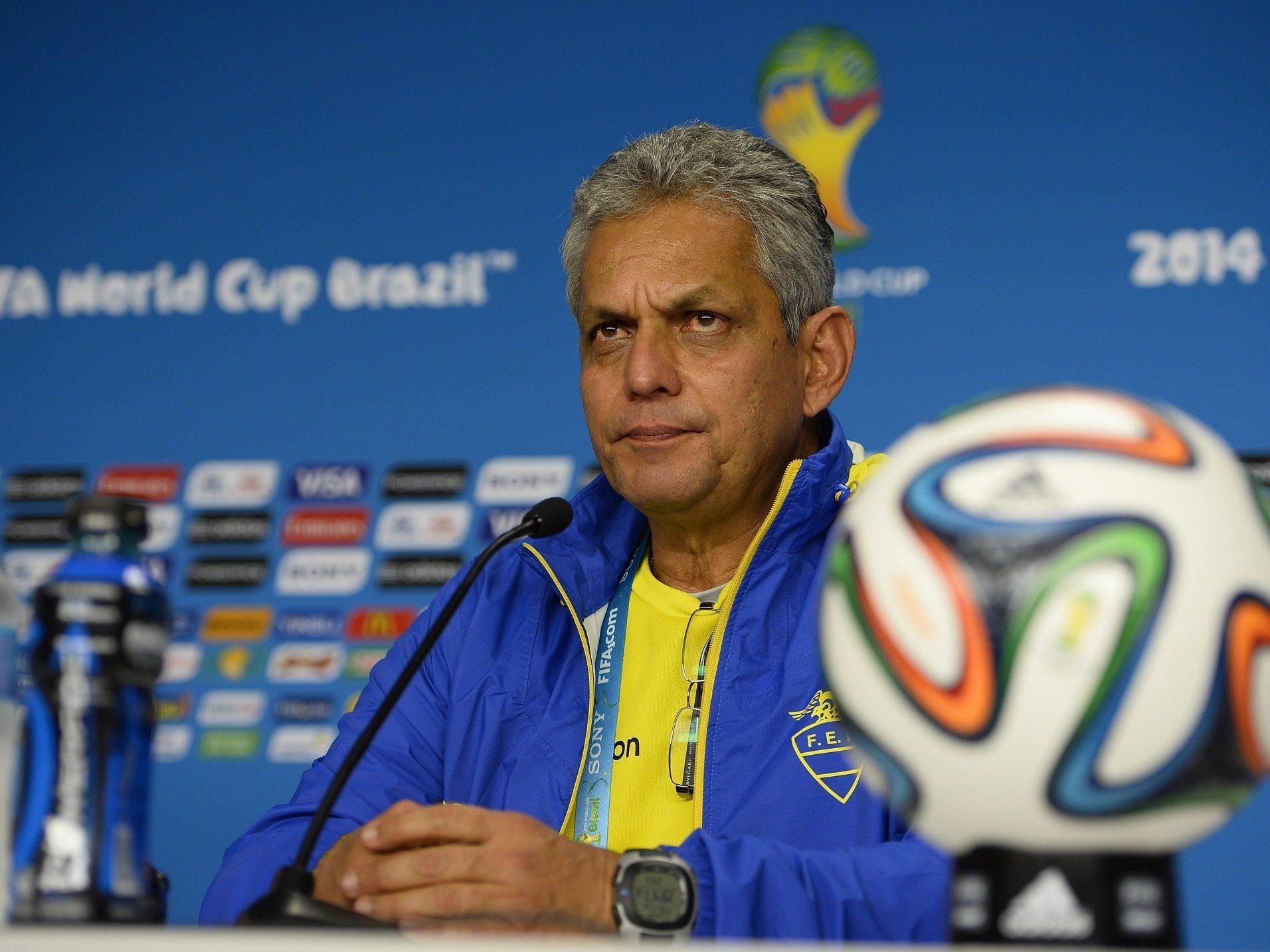 Ecuadors Trainer Reinaldo Rueda kommt ebenso aus Kolumbien wie sein Gegenüber Luis Fernando Suarez.