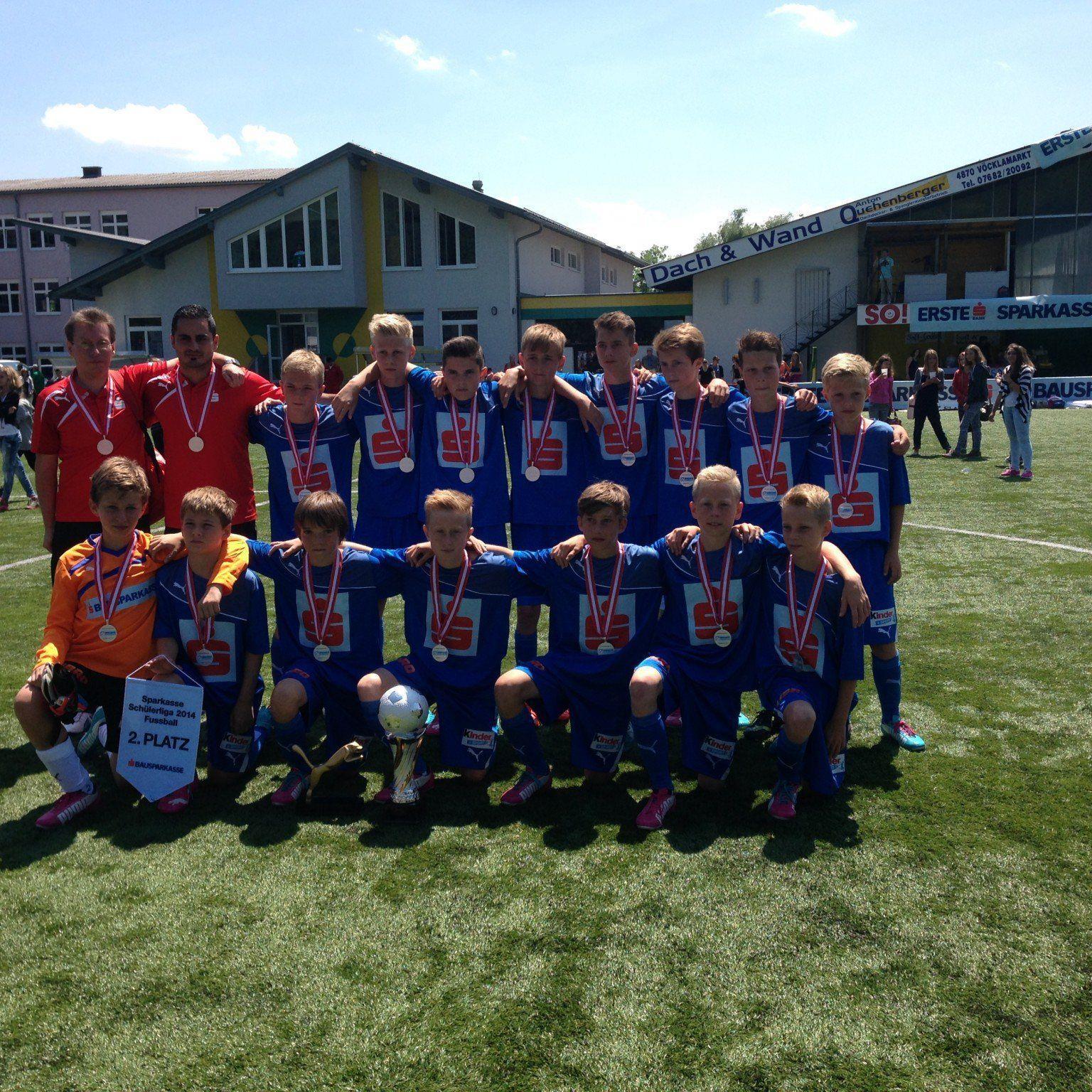 Die PG Mehrerau wurde Zweiter bei der Schülerliga.