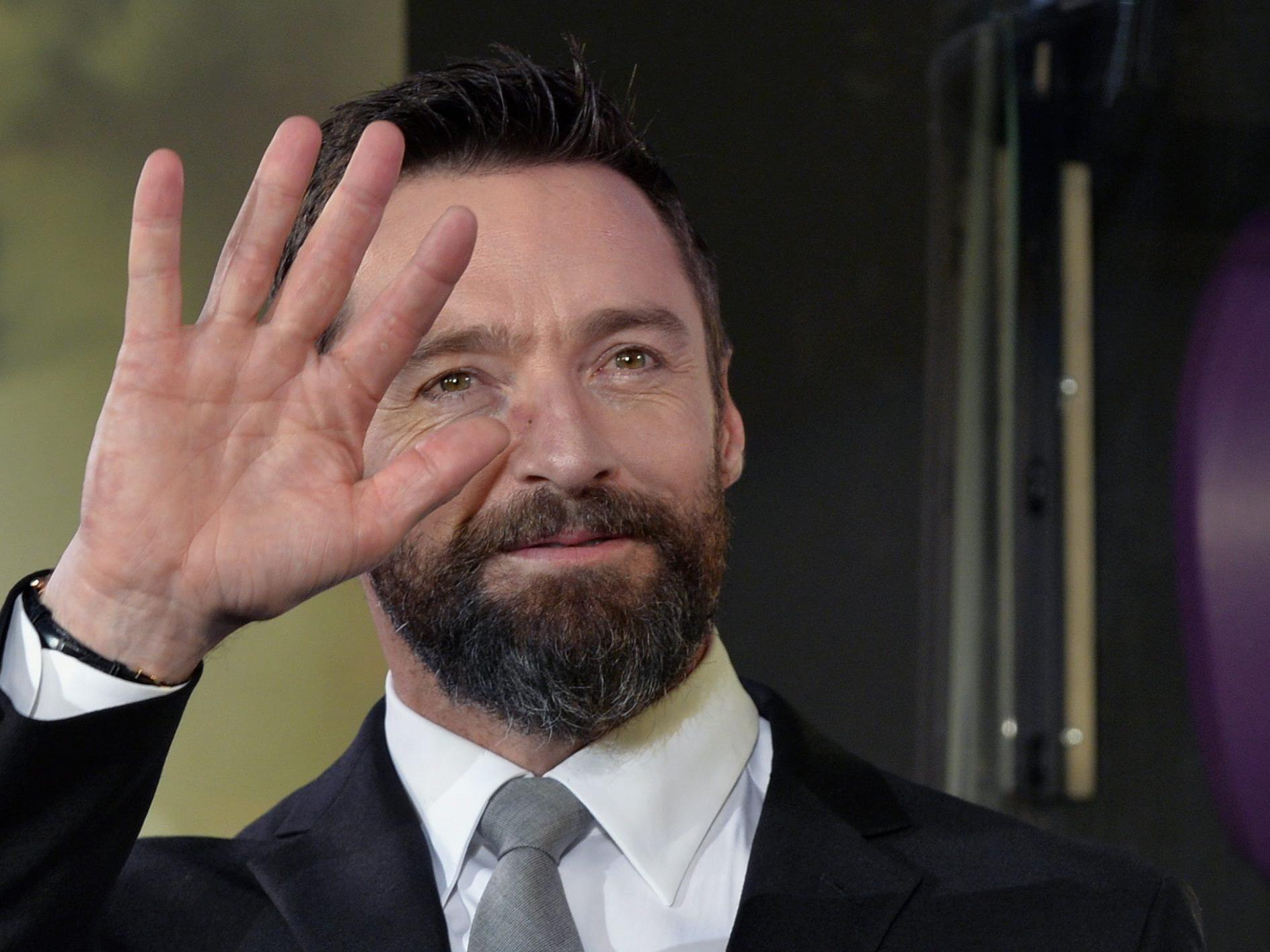 Hugh Jackman zeigt sich mit kahlrasiertem Schädel für neuen Film
