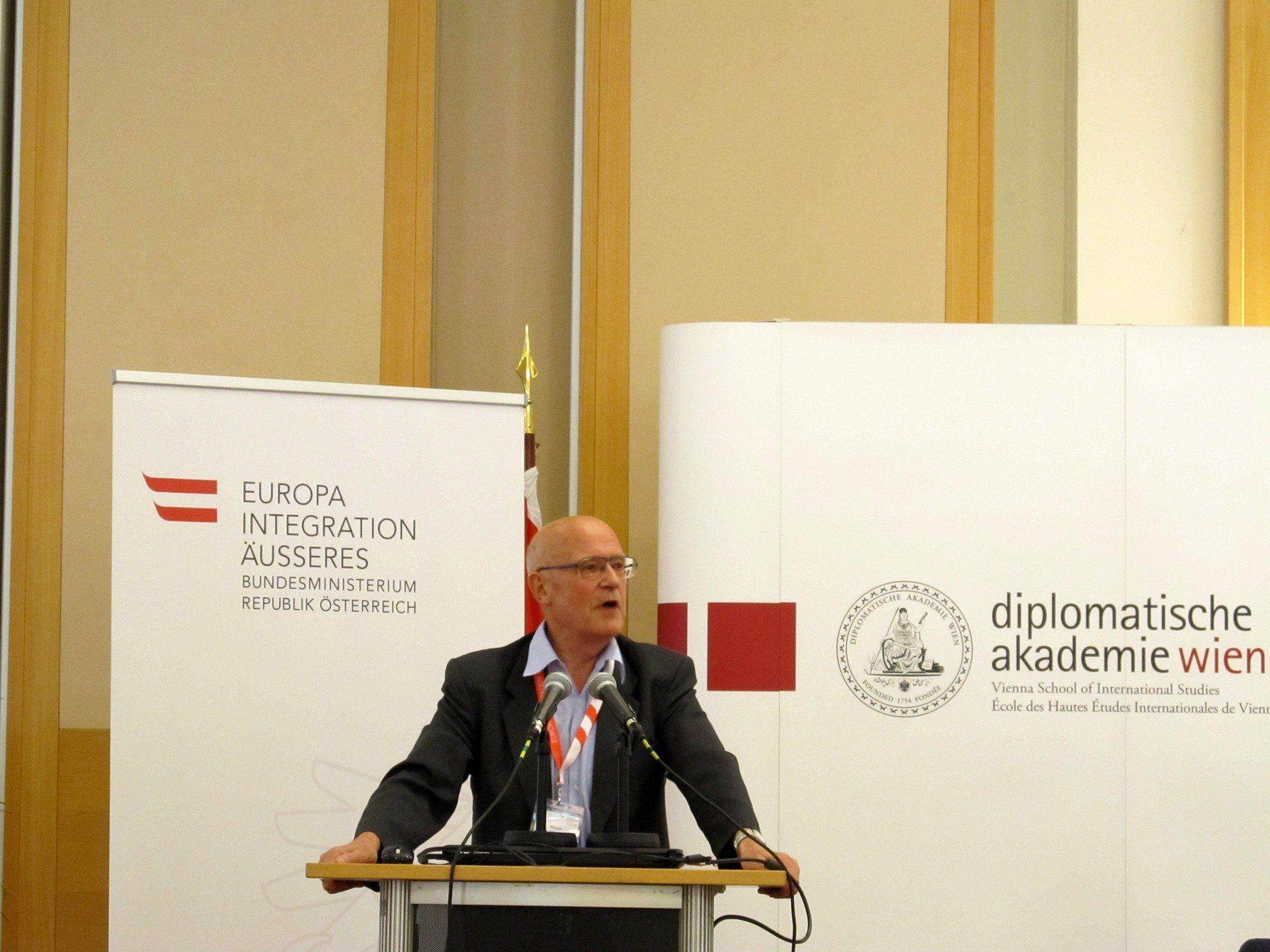 Als Personalleiter von Zumtobel Leuchten war Günter Pichler als Anwerber in Istanbul.