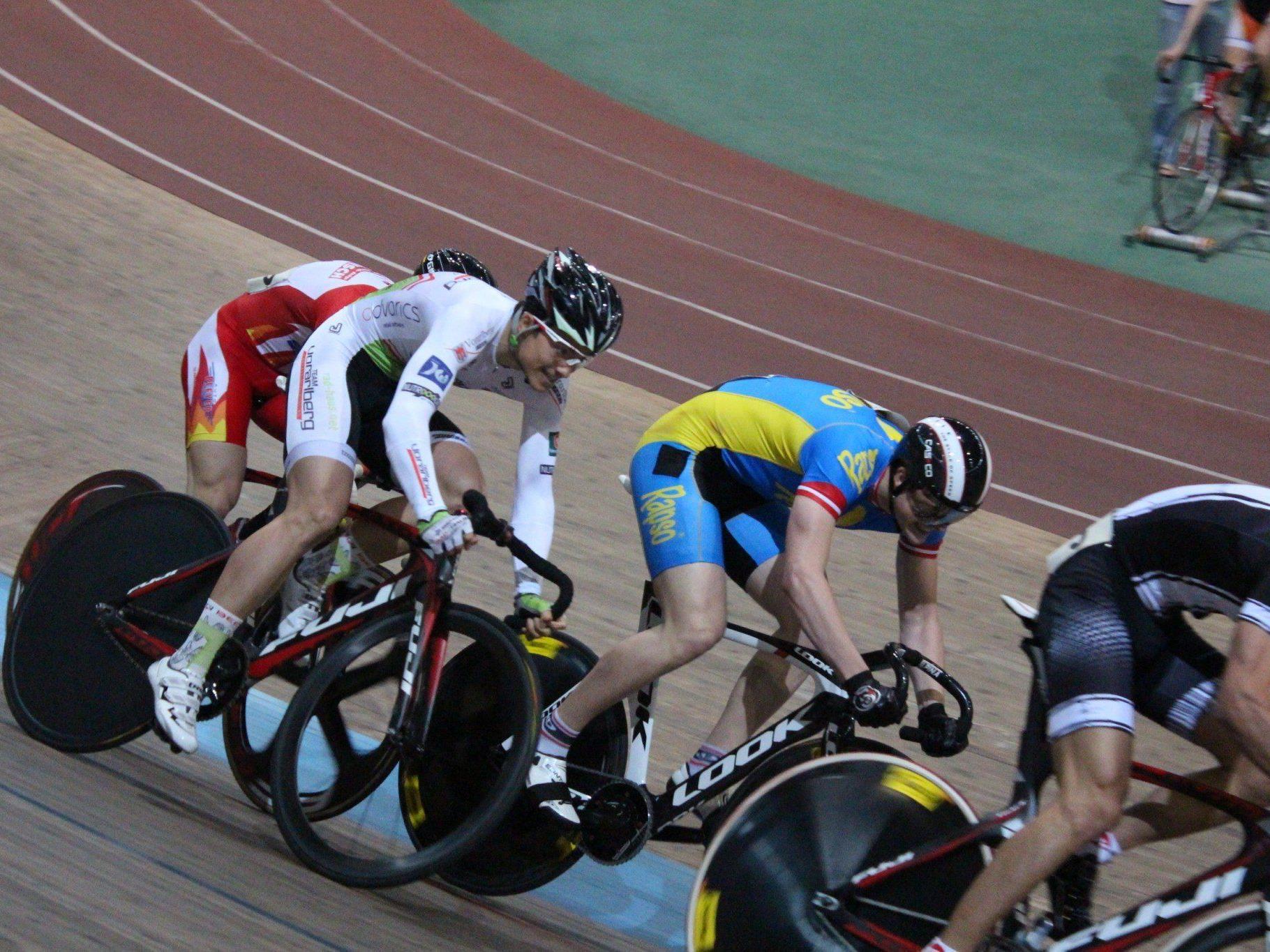 Zwei Top Ten Platzierungen erreichte der Hohenemser Tobias Wauch auf der Bahn.