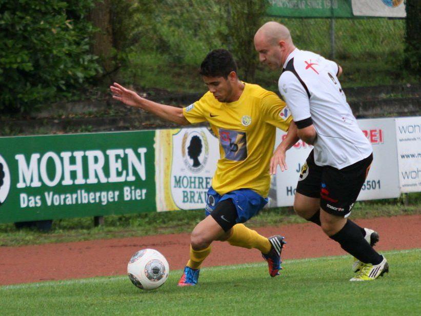 Langenegg trifft in Runde eins auf den Ligakonkurrent Gaißau.