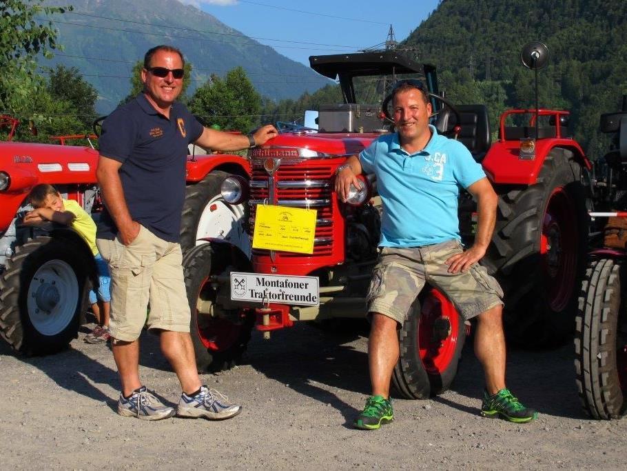 Die Traktoren zählen das Baujahr 1980 und älter.