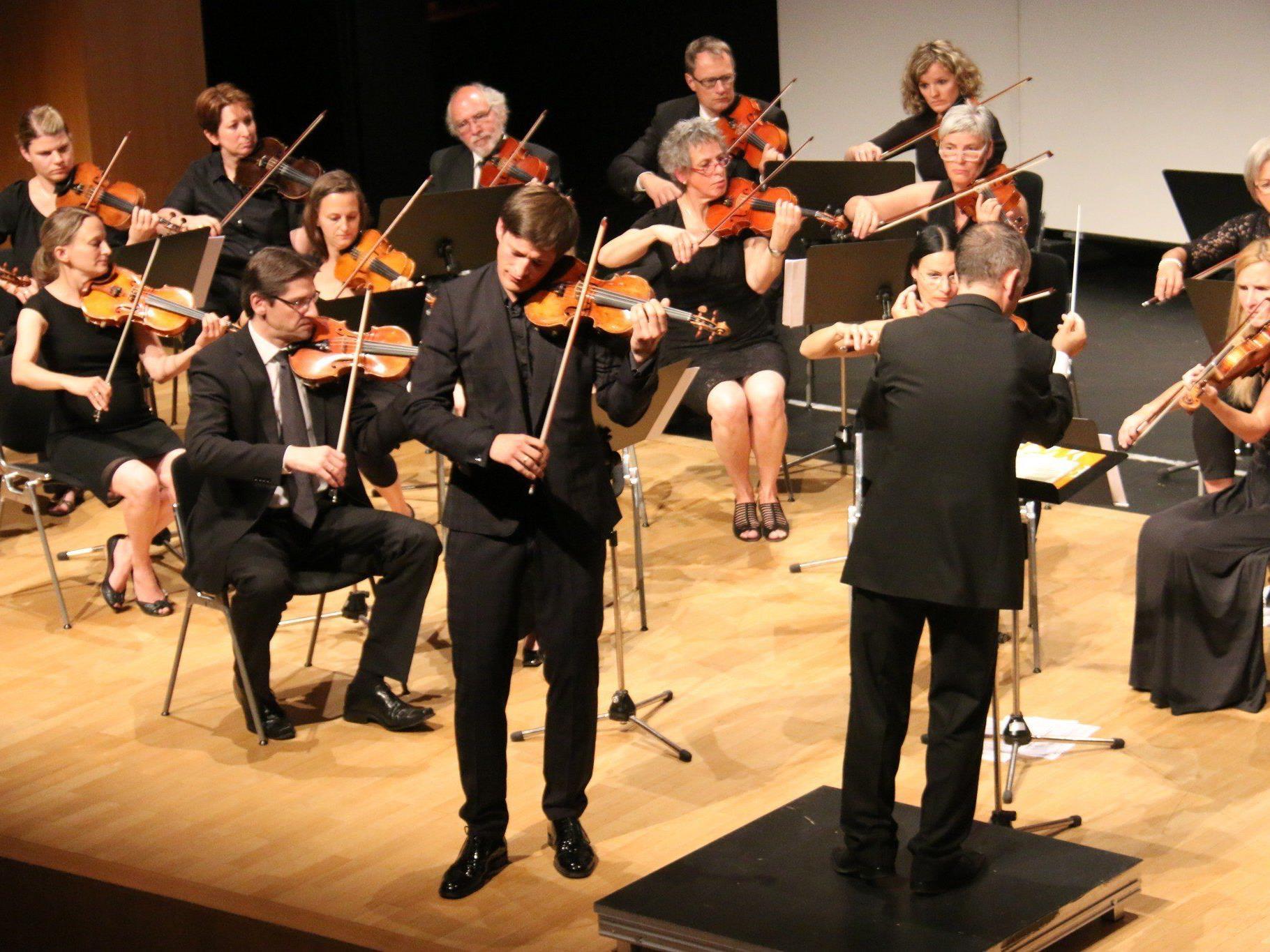 Matinee des Orchestervereins Götzis unter Leitung von Benjamin Lack.