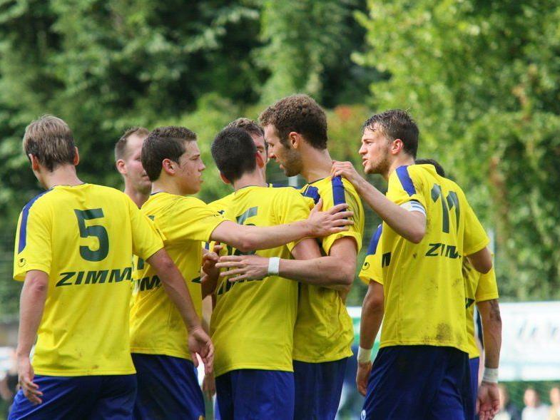 Wolfurt deklassierte Bludenz mit 6:0 und ist in der Vorarlbergliga Zweiter.
