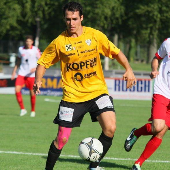 Aaron Kircher verstärkt den FC Dornbirn.