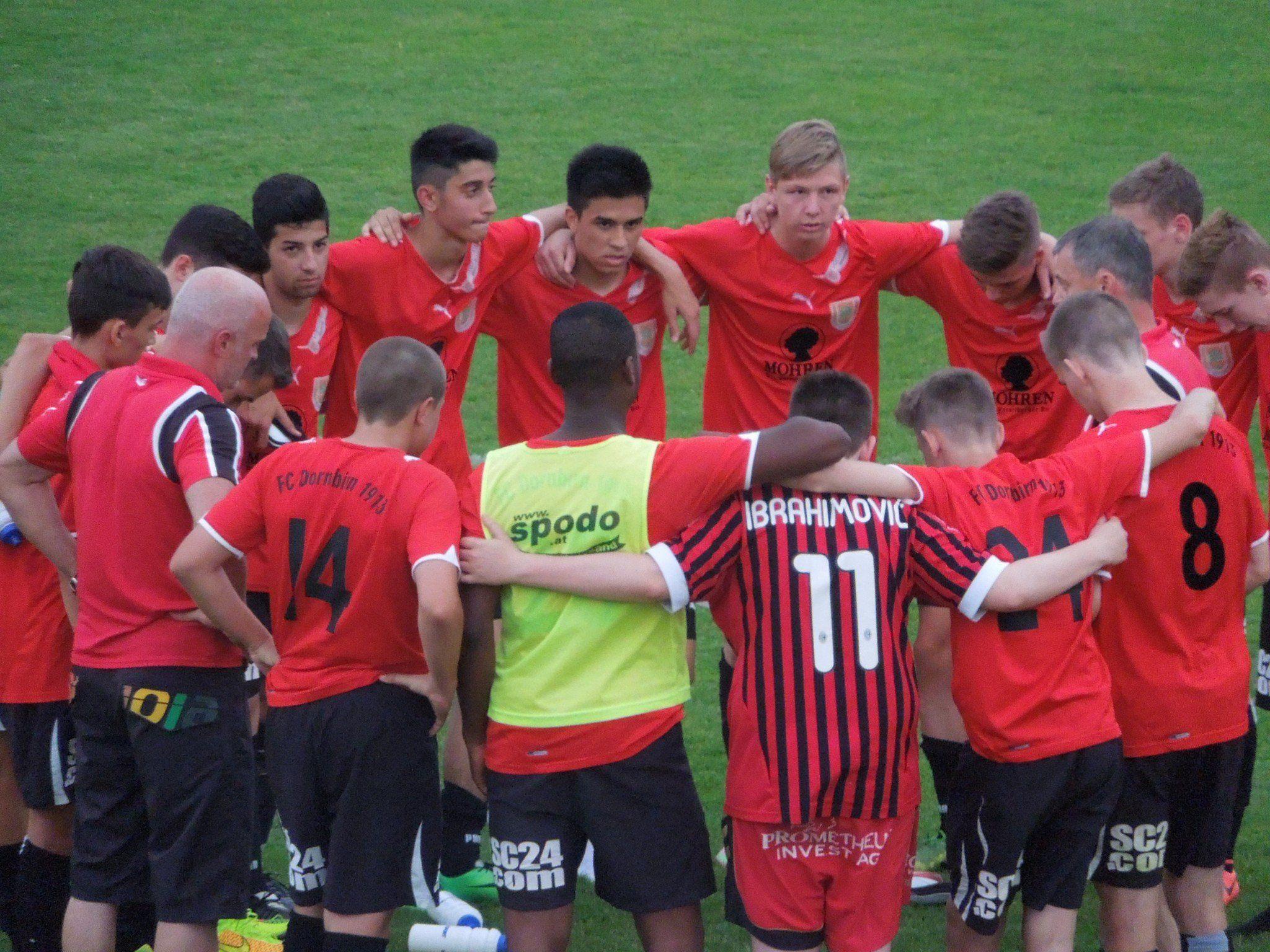Nach dem 6:1 Sieg gegen die Austria Lustenau auswärts konnte die U16 des FC Dornbirn entspannt ins Rückspiel im Halbfinale gehen.
