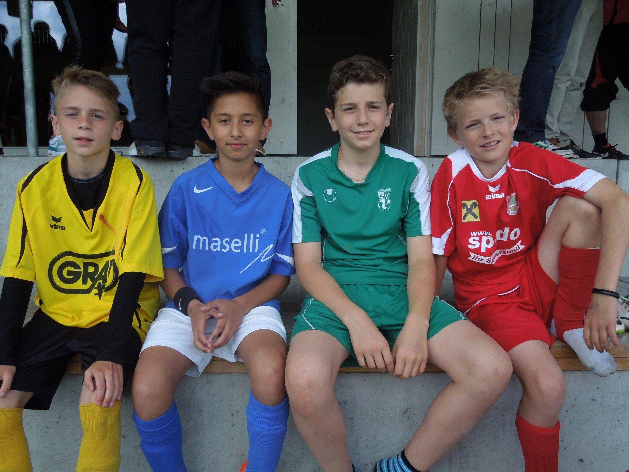 Vier Teams, eine Leidenschaft. Beim Stadtcup trifft sich jedes Jahr Dornbirns Fußballjugend.