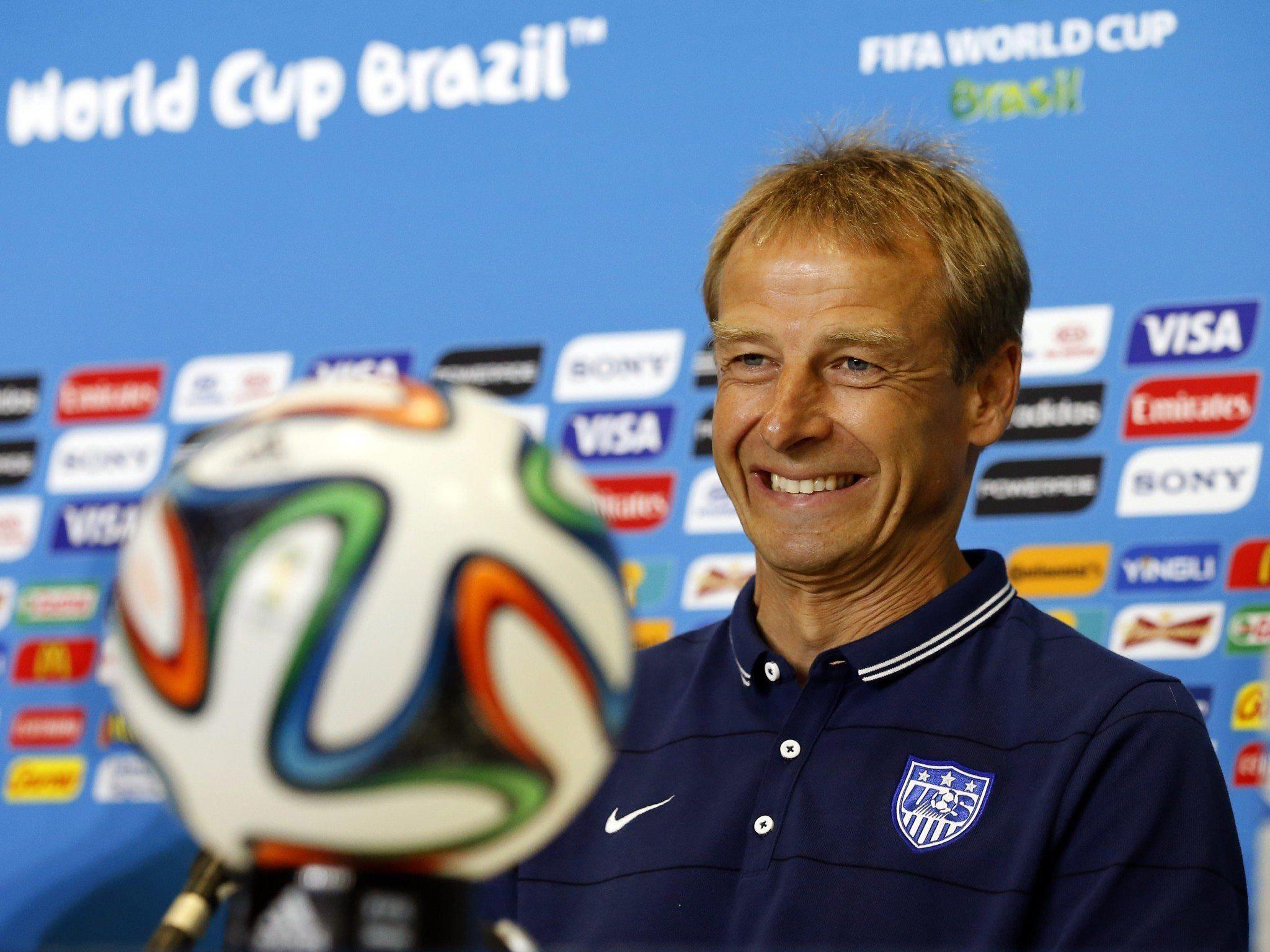 """Für """"Black Stars"""" und CONCACAF-Champion USA unter Trainer Jürgen Klinsmann ist Verlieren verboten."""