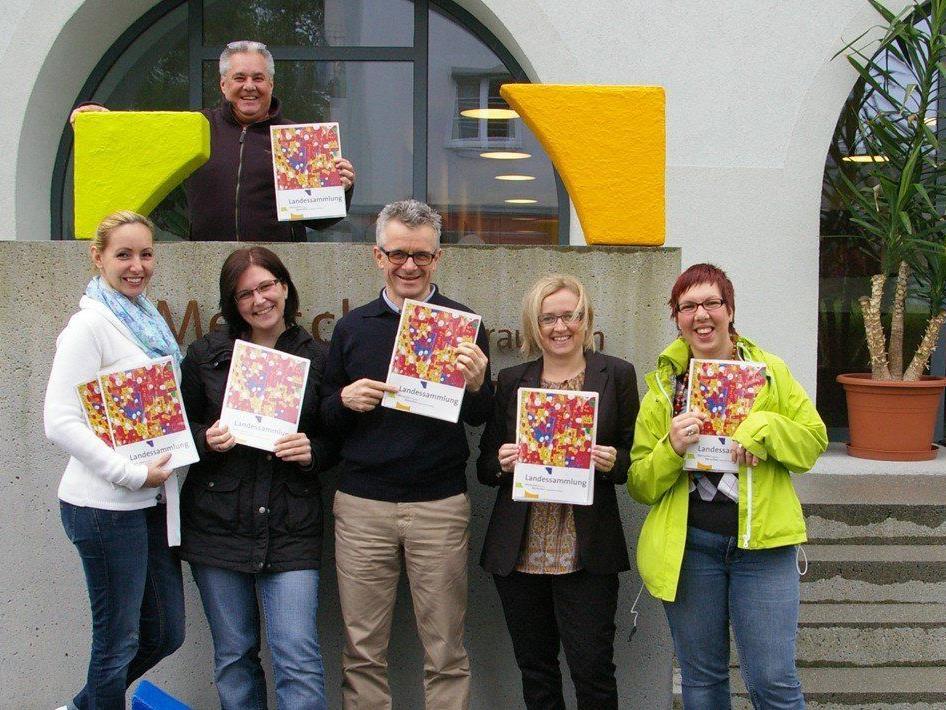 """Im ganzen Land """"on the road"""": Landessammlung der Lebenshilfe Vorarlberg vom 1. bis 30. Juni."""