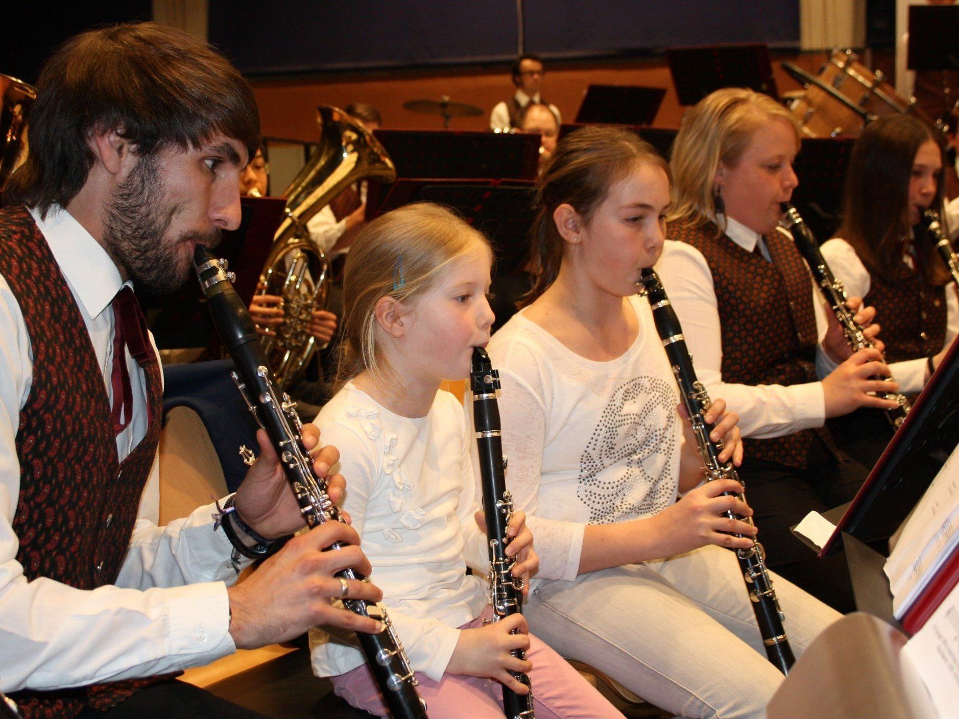 Musizieren macht Spaß: Unter diesem Motto sucht und fördert der Musikverein Lochau junge musikalische Talente.