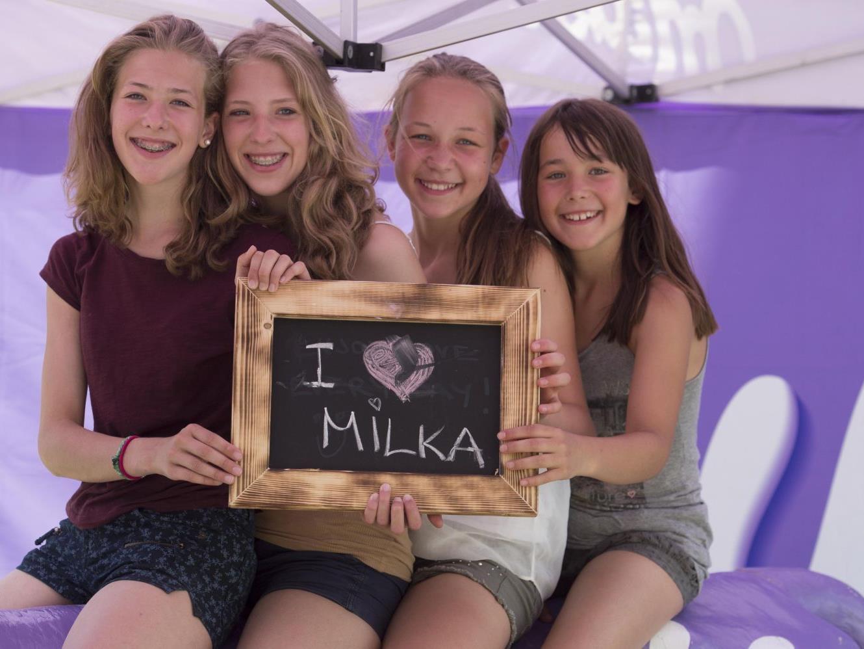Das 31. Milka Schokofest mit vielen Programm-Highlights am 5. Juli 2014 in Bludenz.