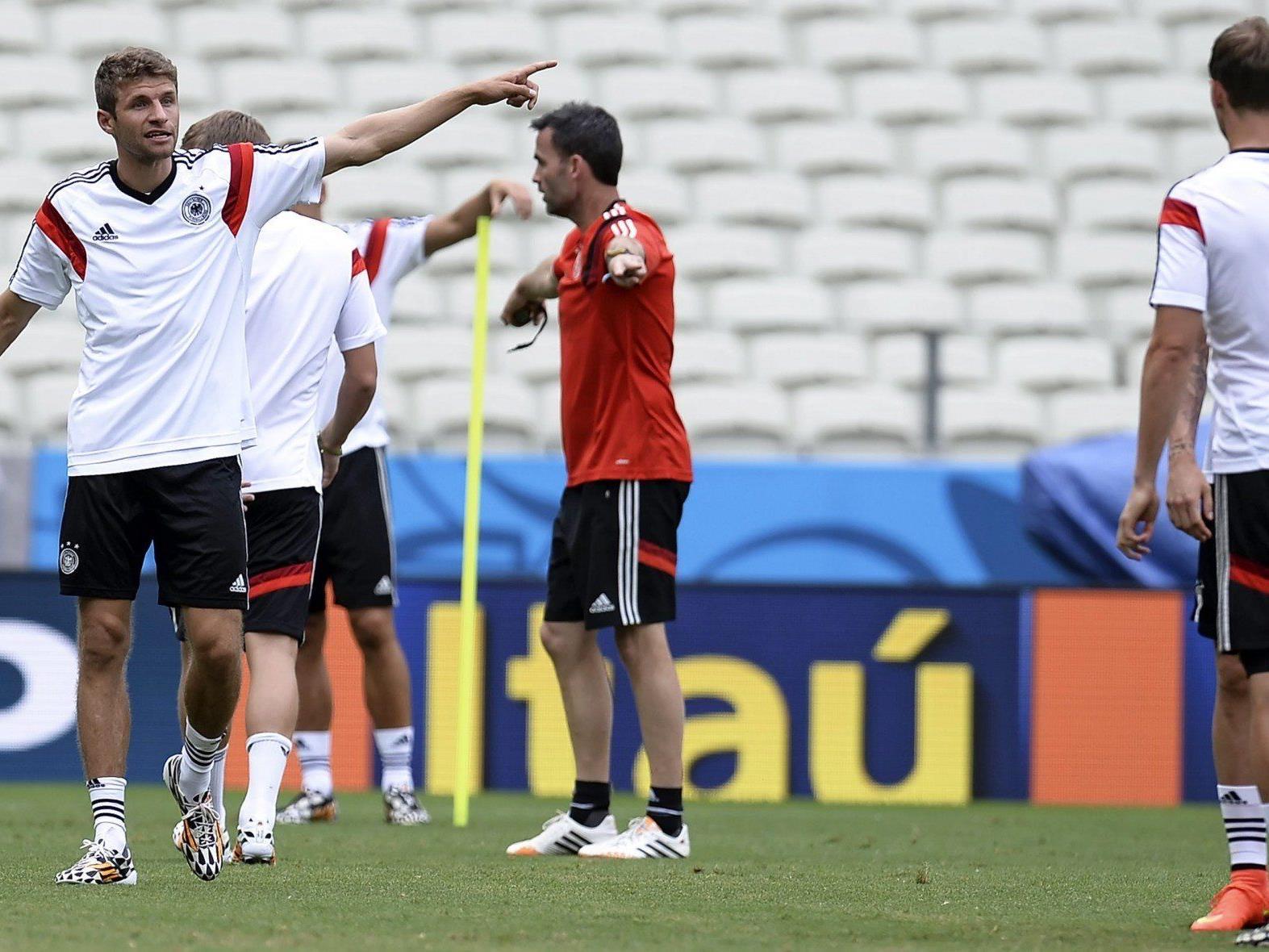 Thomas Müller hat im ersten Spiel bereits dreimal für Deutschland getroffen.